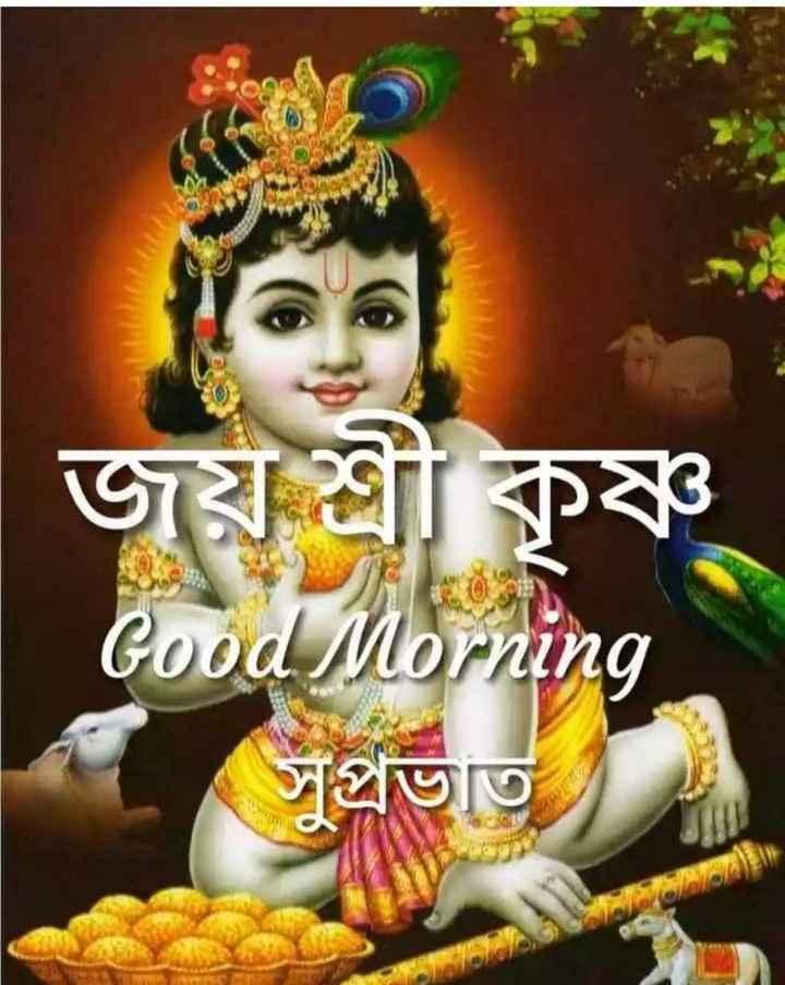 🌹🌹🕡🕡🕡 শুভ সকাল 🕡🕡🕡🌹🌹 - জয় শ্রীকৃষ্ণ Good Morning সুপ্রভাত - ShareChat