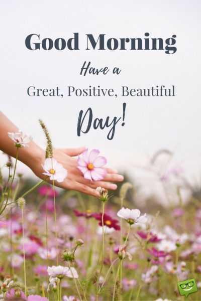 🌞সুপ্রভাত - Good Morning Have a Great , Positive , Beautiful i Day ! - ShareChat