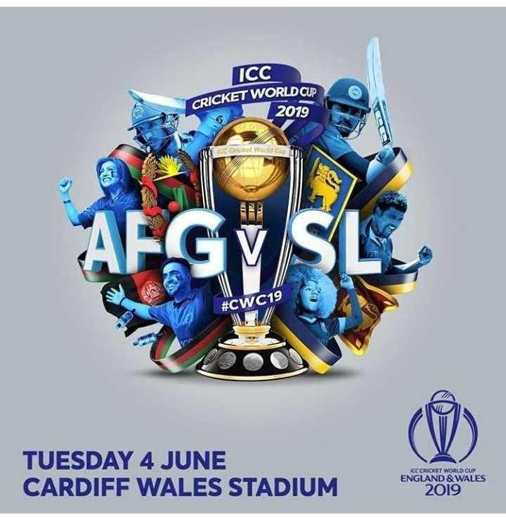 🏏 🇦🇫 ਅਫ਼ਗ਼ਾਨਿਸਤਾਨ vs ਸ਼੍ਰੀਲੰਕਾ 🔵 - ICC CRICKET WORLD CUP 2019 E C World Cup # CWC19 TUESDAY 4 JUNE CARDIFF WALES STADIUM KCC CRICKET WORLD CUP ENGLAND & WALES 2019 - ShareChat