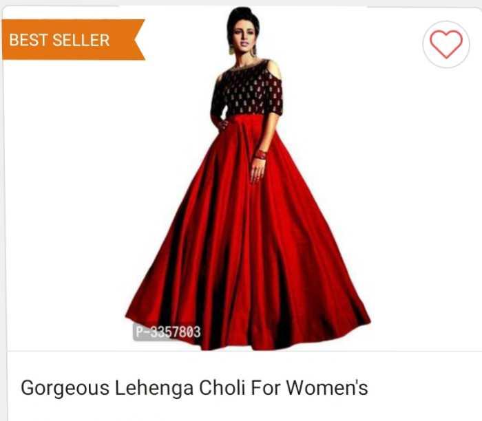 ਕੁੜੀਆਂ ਦਾ ਸਵੈਗ - BEST SELLER P - 3357803 Gorgeous Lehenga Choli For Women ' s - ShareChat