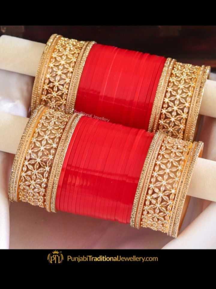👑  ਗਹਿਣੇ ਅਤੇ ਚੂੜੀਆਂ - jonal Jewellery Punjabi TraditionalJewellery . com - ShareChat