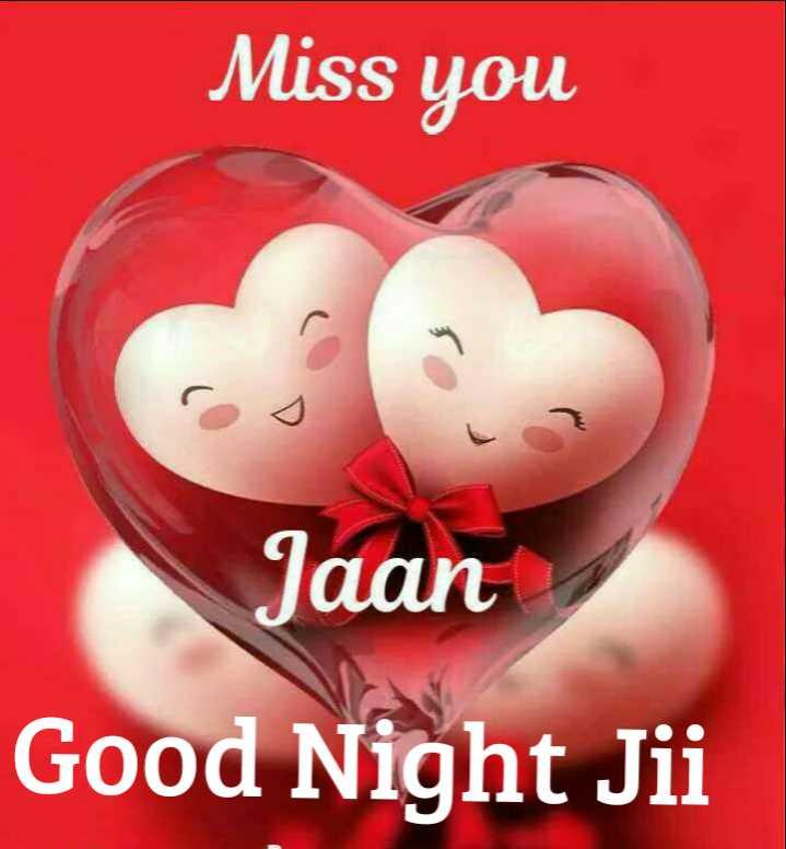 🌙  ਗੁੱਡ ਨਾਇਟ ਵੀਡੀਓ - Miss you Jaan Good Night Jii - ShareChat