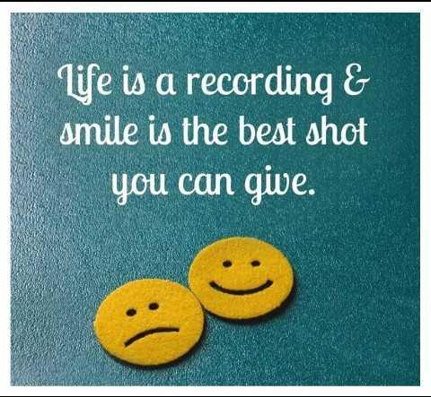 🌙  ਗੁੱਡ ਨਾਇਟ - life is a recording & smile is the best shot you can give . - ShareChat