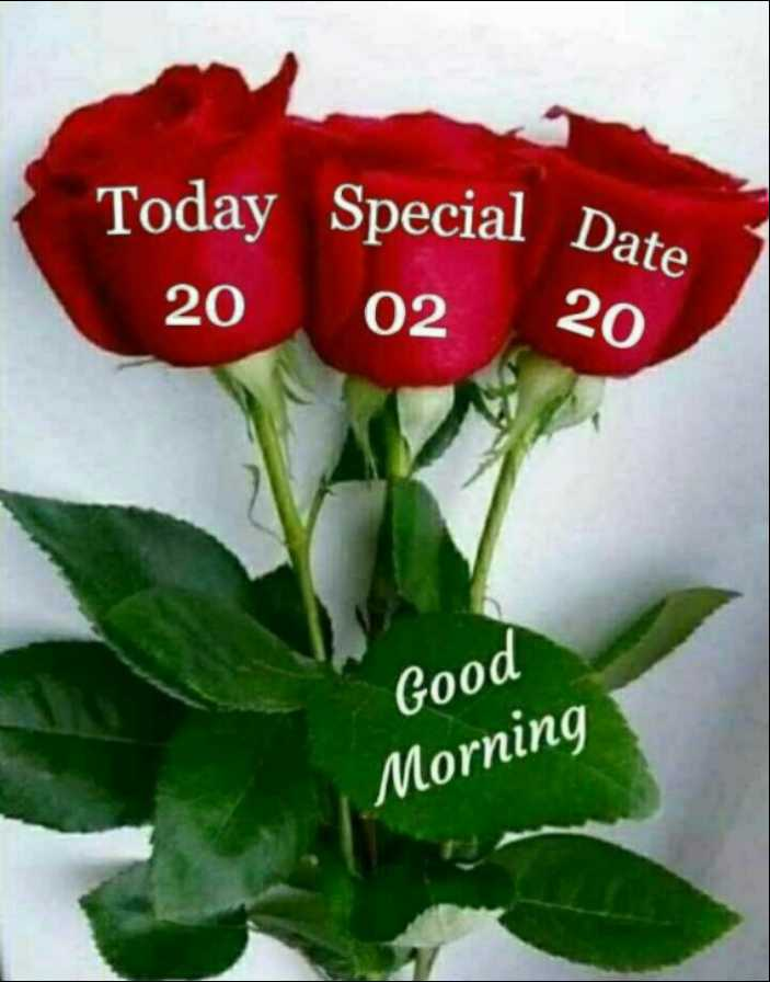 🌅 ਗੁੱਡ ਮੋਰਨਿੰਗ - Today Special Date 20 02 20 Good Morning - ShareChat
