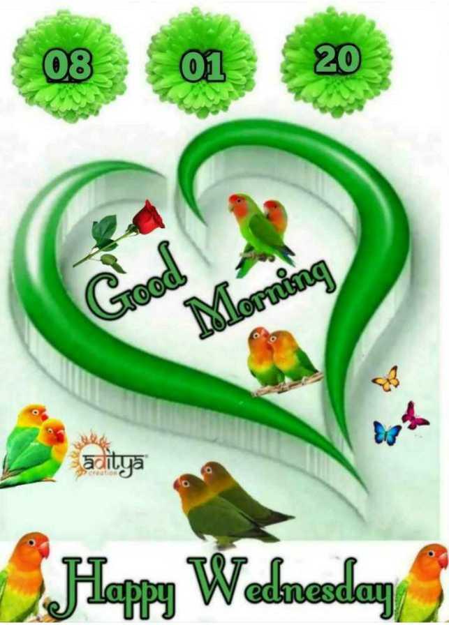 🌅 ਗੁੱਡ ਮੋਰਨਿੰਗ - 08 01 20 stood aditya Happy Wednesday - ShareChat