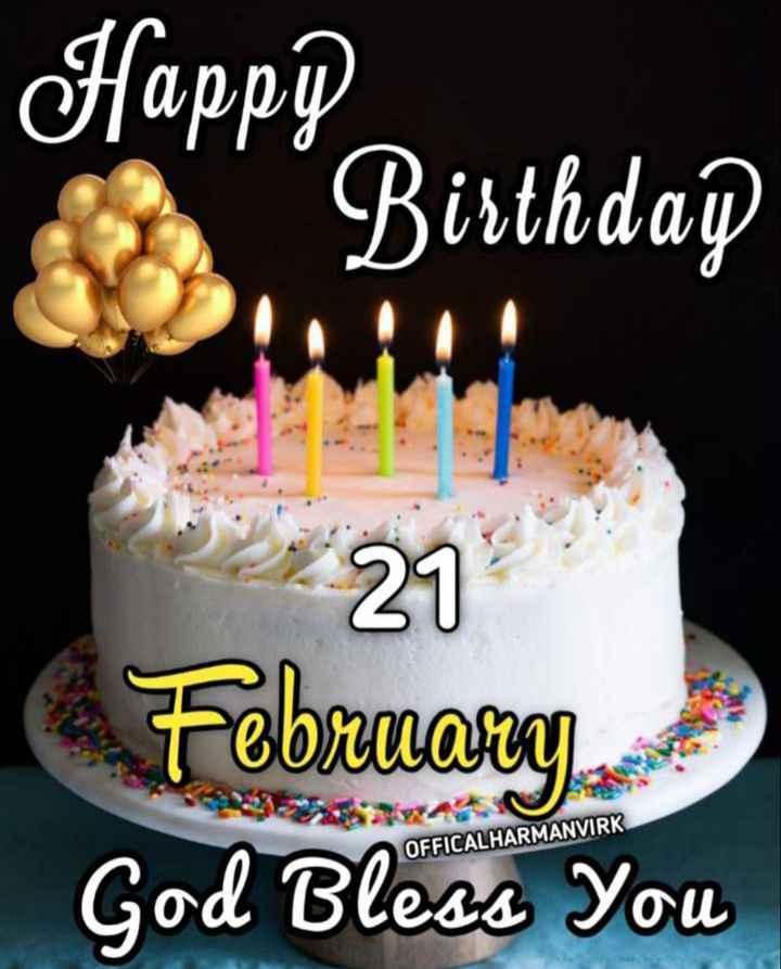 🎂 ਜਨਮਦਿਨ - Happpa Birthday * 279 February OFFICALHARMANVIRK God Bless You - ShareChat