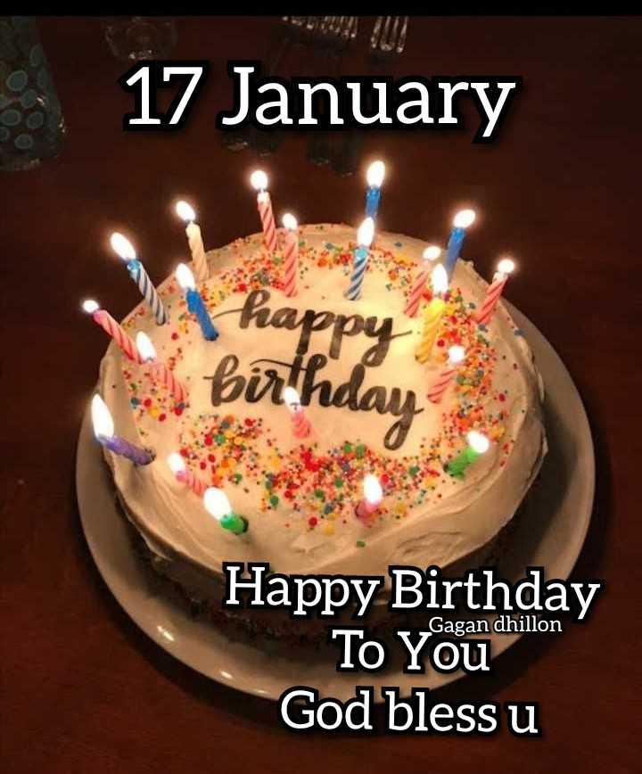 🎂  ਜਨਮਦਿਨ - 17 January birth Happy Birthday To Youd God bless u - ShareChat