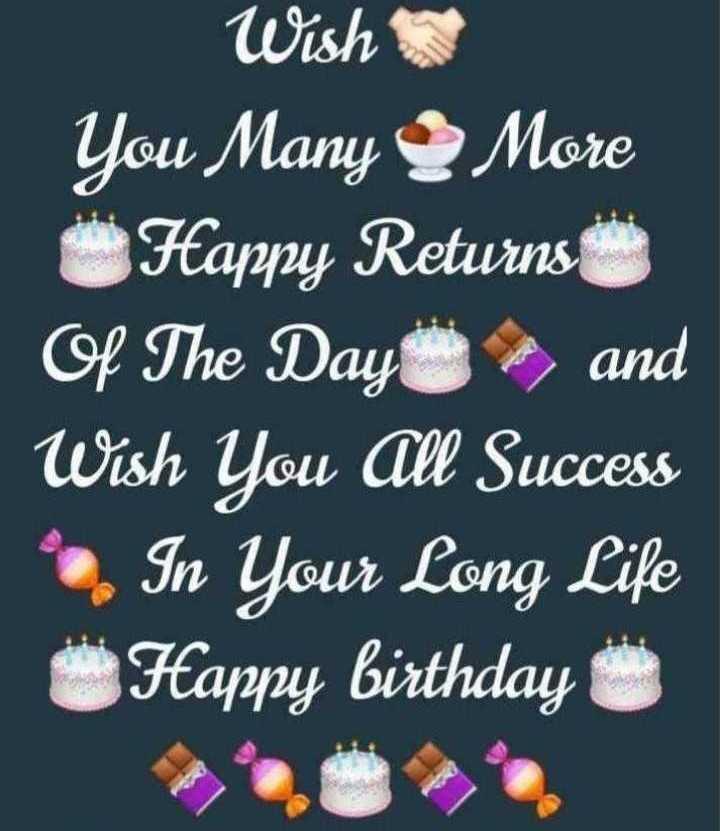 🎂  ਜਨਮਦਿਨ - Wish You Many More Happy Returns Of The Day , and Wish You All Success - In Your Long Life Happy birthday - ShareChat