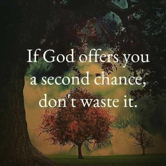 💖 ਦਿਲ ਦੇ ਜਜਬਾਤ - If God offers you a second chance , don ' t waste it . - ShareChat