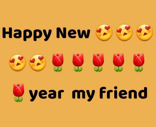 💖 ਦਿਲ ਦੇ ਜਜਬਾਤ - Happy News year my friend - ShareChat