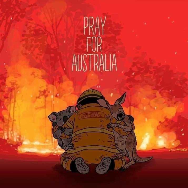 💔 ਦੁਖੀ ਹਿਰਦਾ - DDAV PRAY FOR AUSTRALIA VOLUNURDICE . LAW OP 20 - ShareChat