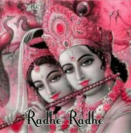 🙏 ਧਾਰਮਿਕ ਤਸਵੀਰਾਂ - editi 000 Radhe Radhe - ShareChat