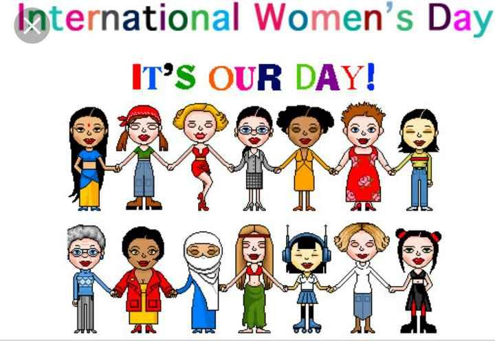 ਮਹਿਲਾ ਦਿਵਸ ਸਟੇਟਸ - International Women ' s Day IT ' S OUR DAY ! - ShareChat