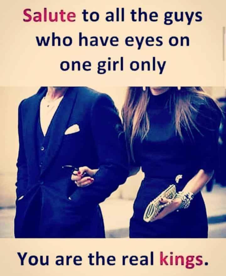 🔍 ਮਜ਼ੇਦਾਰ facts 🔖 - Salute to all the guys who have eyes on one girl only You are the real kings . - ShareChat