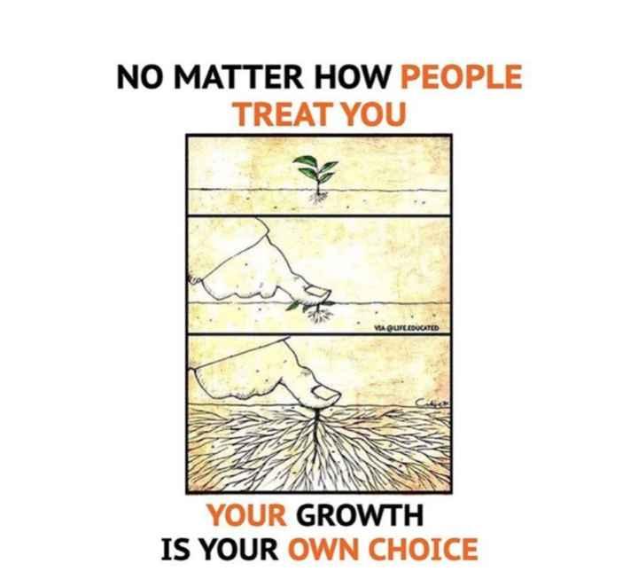 🔍 ਮਜ਼ੇਦਾਰ facts 🔖 - NO MATTER HOW PEOPLE TREAT YOU VIA QUFL . EDUCATED YOUR GROWTH IS YOUR OWN CHOICE - ShareChat