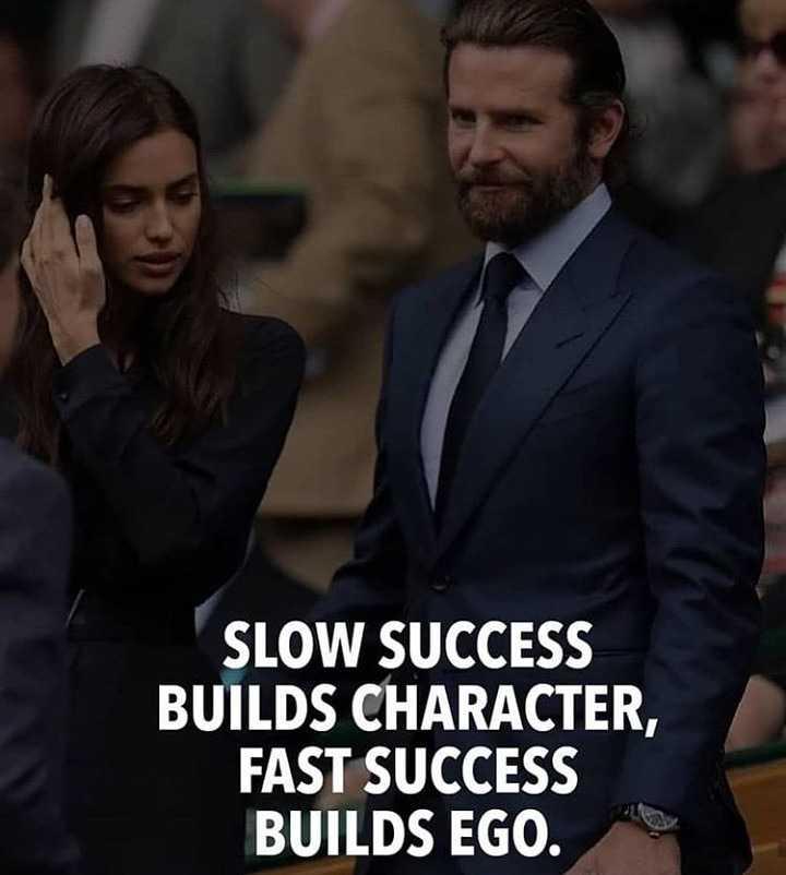 🔍 ਮਜ਼ੇਦਾਰ facts 🔖 - SLOW SUCCESS BUILDS CHARACTER , FAST SUCCESS BUILDS EGO . - ShareChat