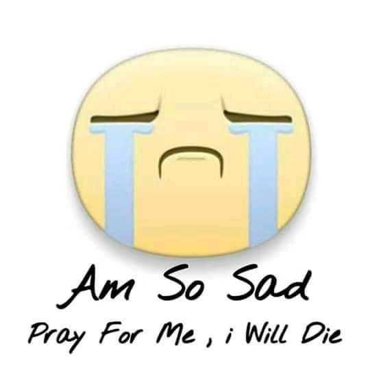 📱 ਵਟਸਐਪ ਸਟੇਟਸ - Am So Sad Pray For Me , i Will Die - ShareChat
