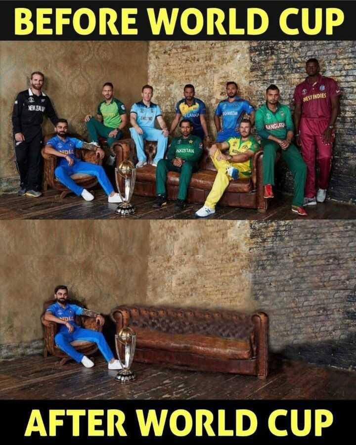 🏆 ਵਿਸ਼ਵ ਕਪ ਸਾਡਾ ਹੈ - BEFORE WORLD CUP NESTINDIES 10 EV BANGUAS AKISTAK AFTER WORLD CUP - ShareChat