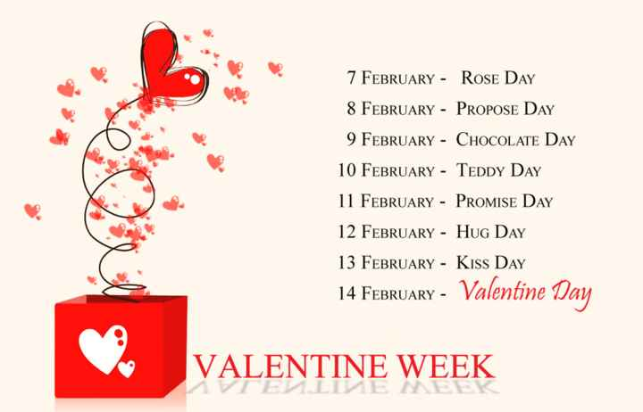 💘ਵੈਲੇਨਟਾਈਨ ਡੇ Coming Soon - 7 FEBRUARY - ROSE DAY 8 FEBRUARY - PROPOSE DAY 9 FEBRUARY - CHOCOLATE DAY 10 FEBRUARY - TEDDY DAY 11 FEBRUARY - PROMISE DAY 12 FEBRUARY - HUG DAY 13 FEBRUARY - Kiss Day 14 FEBRUARY - Valentine Day VALENTINE WEEK - ShareChat