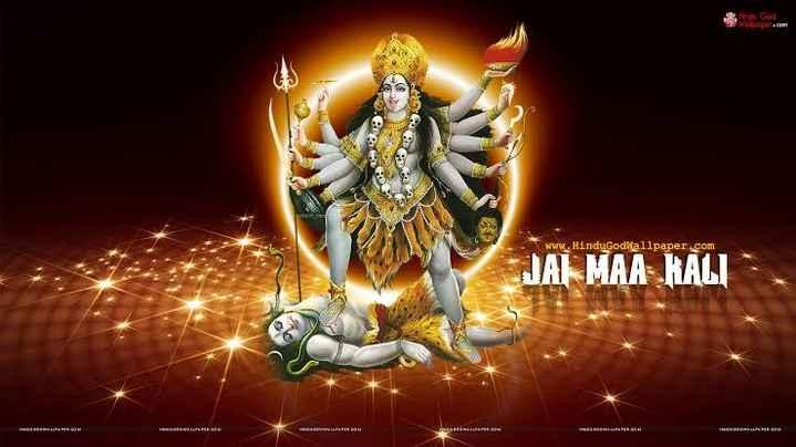 🐶 ਸ਼ਾਹੀ ਕੁੱਤੇ - 3rd God dociera www . HinduGodwallpaper . com JAI MAA KALI - ShareChat