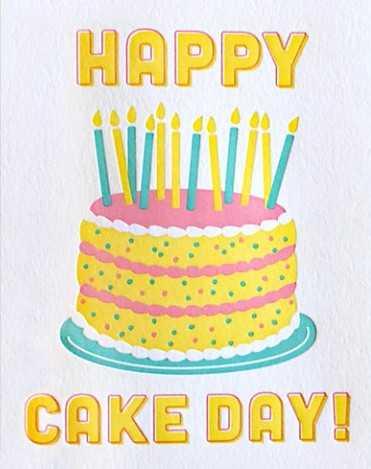 🎂ਹੈਪੀ ਕੇਕ ਡੇ🎂 - HAPPY CAKE DAY ! - ShareChat