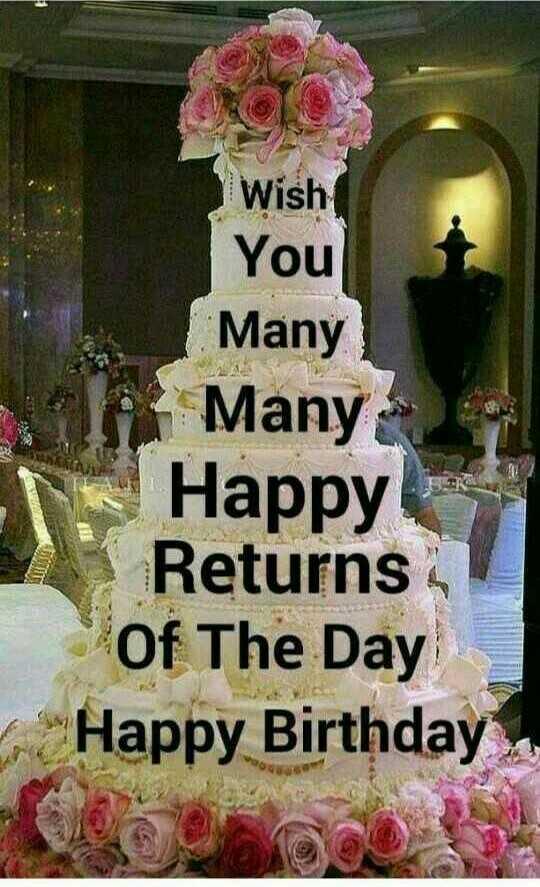 🎉 ਹੈਪੀ ਬਰਥਡੇ ਗ੍ਰੇਟ ਖਲੀ - Wish You Many Many - Happy Returns Of The Day - _ - Happy Birthday - ShareChat