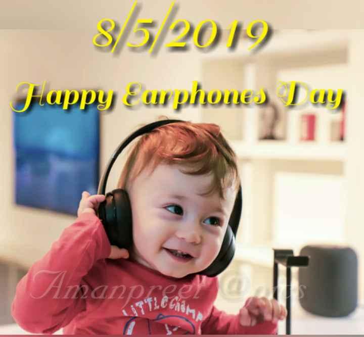 🎧 ਹੈਪੀ earphones day - 8 / 5 / 2019 αρρυ ειμίρμες T9 ) Aman prifle Chom Δρο - ShareChat