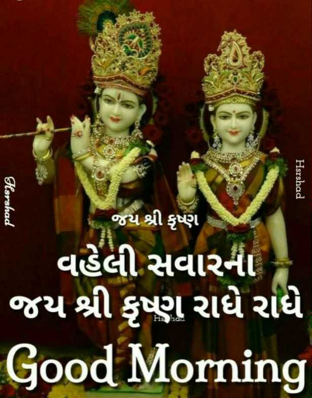 🙏 જય શ્રી કૃષ્ણ - Harshad Hsrshad જય શ્રી કૃષ્ણ £ જય શ્રી કૃષ્ણ વહેલી સવારના જય શ્રી કૃષ્ણ રાધે રાધે Good Morning Hs had - ShareChat