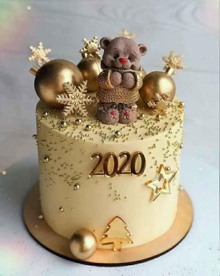 🎂 ન્યૂ યર Cake/ Sweets - 2020 - ShareChat