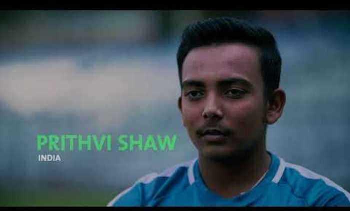 🏏 પૃથ્વી શૉ - PRITHVI SHAW INDIA - ShareChat