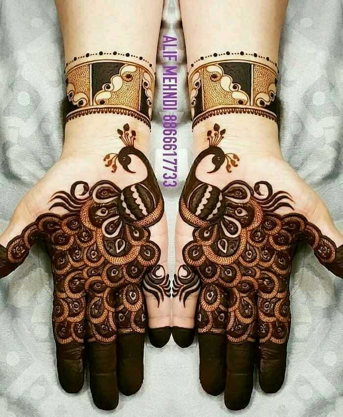 🤲 મહેંદી ડીઝાઇન - ALIF MEHNDI 8866617733 - ShareChat