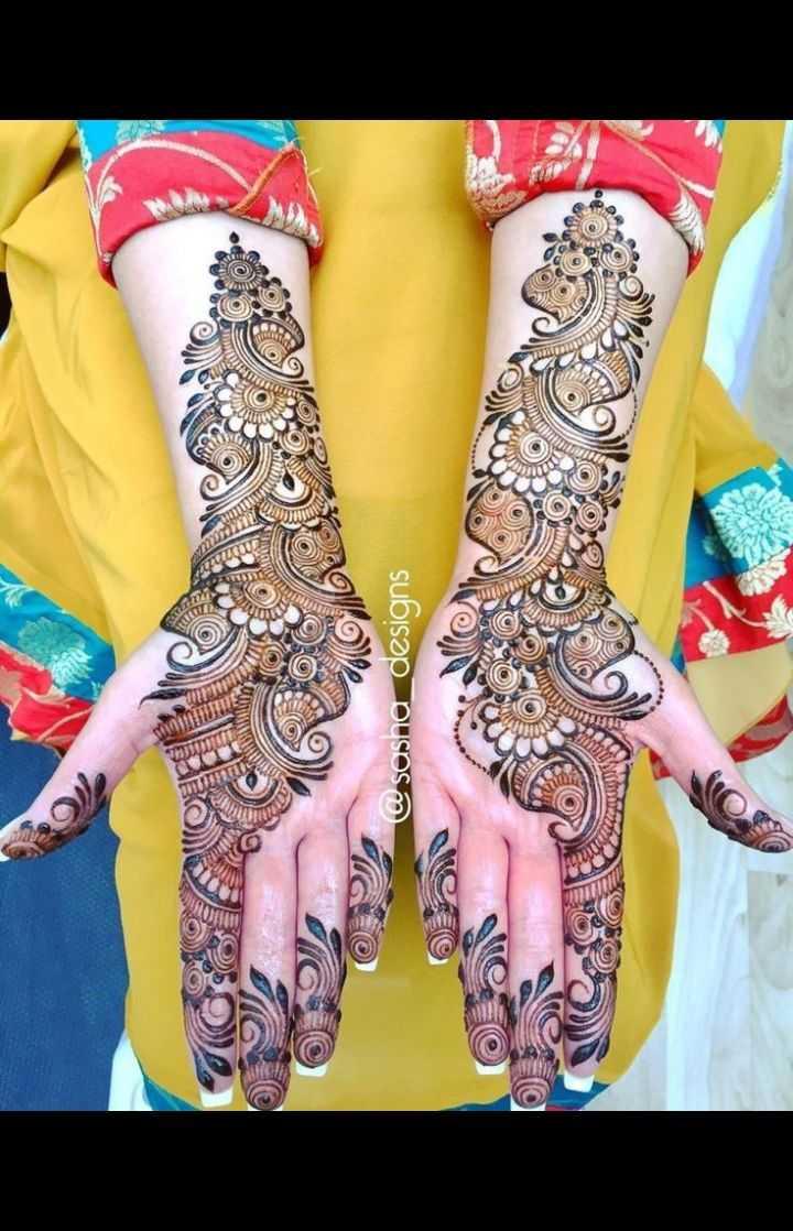 🤲 મહેંદી ડીઝાઇન - @ sasha _ designs - ShareChat