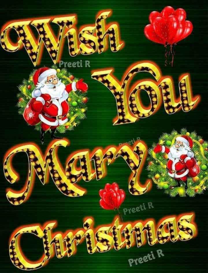 🎄 મેરી ક્રિસ્મસ 🎅 - Preeti R Preeti R Capistanas Preeti R - ShareChat