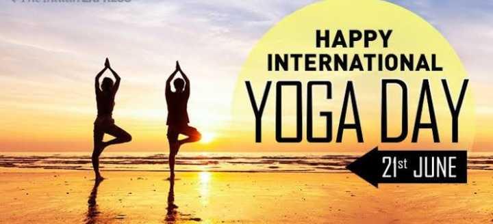 યોગ - HAPPY INTERNATIONAL YOGA DAY 21st JUNE - ShareChat