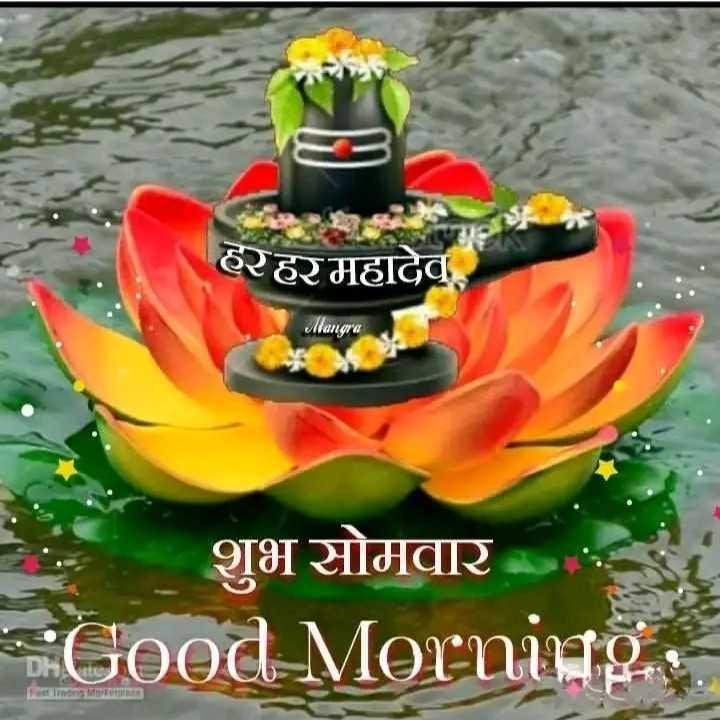 💐 શુભ સોમવાર - हरहरमहादेव Mangra शुभ सोमवार Good Morning FestlindndMerrearnea - ShareChat