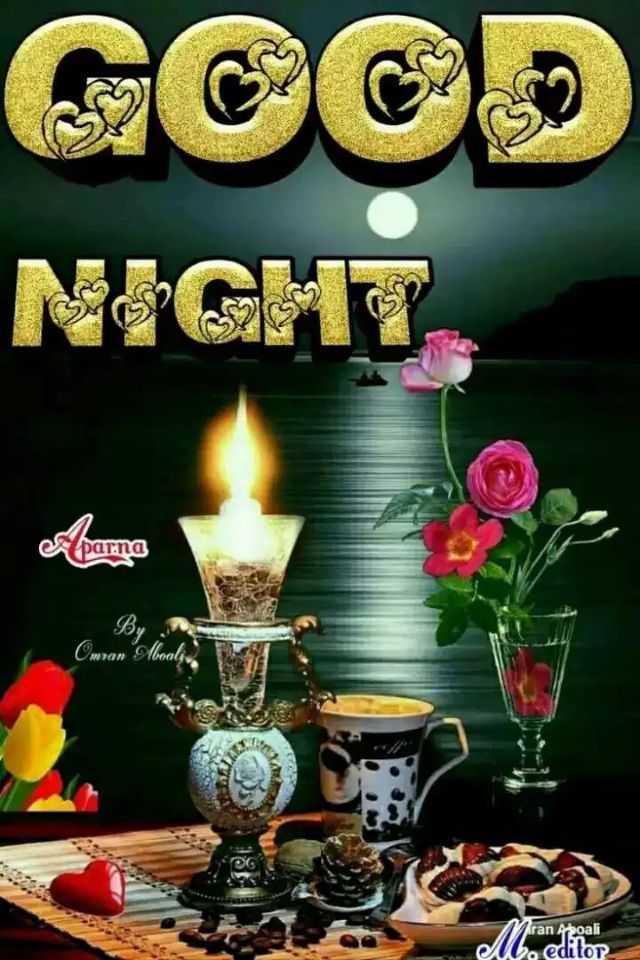 🌙இரவு வணக்கம் - GOOD NIGHT esparna By Owran Aboala Aran Aroali editor - ShareChat