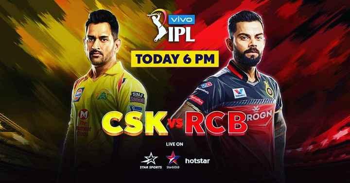🏆 நாளை முதல் IPL - Vivo > IPL TODAY 6 PM pomine SNJ 10000 V DROGN une Moor CSK RCBroe LIVE ON ☆ hotstar hotstar STAR SPORTS Sto : GOLO - ShareChat