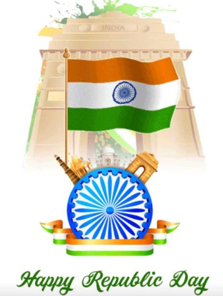 🎉గణతంత్ర దినోత్సవ శుభాకంక్షాలు - DIA Happy Republic Day - ShareChat