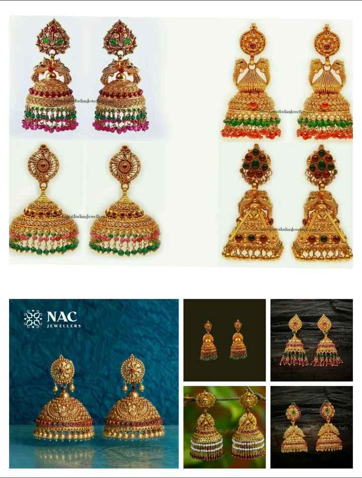 👂ఝుంకిలు - RO a lss Indian Jewels Les Indianjewellynyoni Latest Indian Jewellery OSAS ere e Latest Indian lewe NAC JEWELLERS Kushare using yushati DOR 9990000 322 DOO90097 Rasligi video - ShareChat