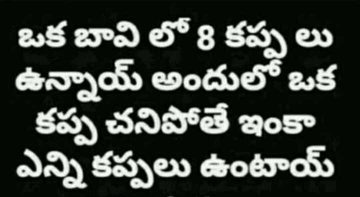 🤫పజిల్స్ - ఒక బావి లో 8 కప్పలు ఉన్నాయ్ అందులో ఒక కప్ప చనిపోతే ఇంకా ఎన్ని కప్పలు ఉంటాయ్ - ShareChat