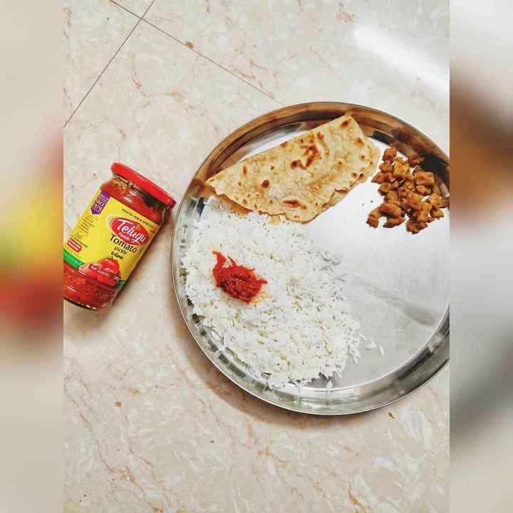పికెల్ - SOUTH INDIA SPICE Telugu Foods Tomato pickle టమాట 23 Nel Quantity - ShareChat