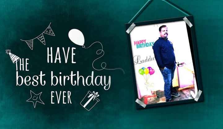 🎂పుట్టిన రోజు - HAPPY BIRTHDAY WE HAVE Laddu best birthday EVER - ShareChat
