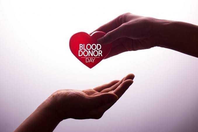 ప్రపంచ రక్త దాతల దినోత్సవం - BLOOD DONOR DAY - ShareChat