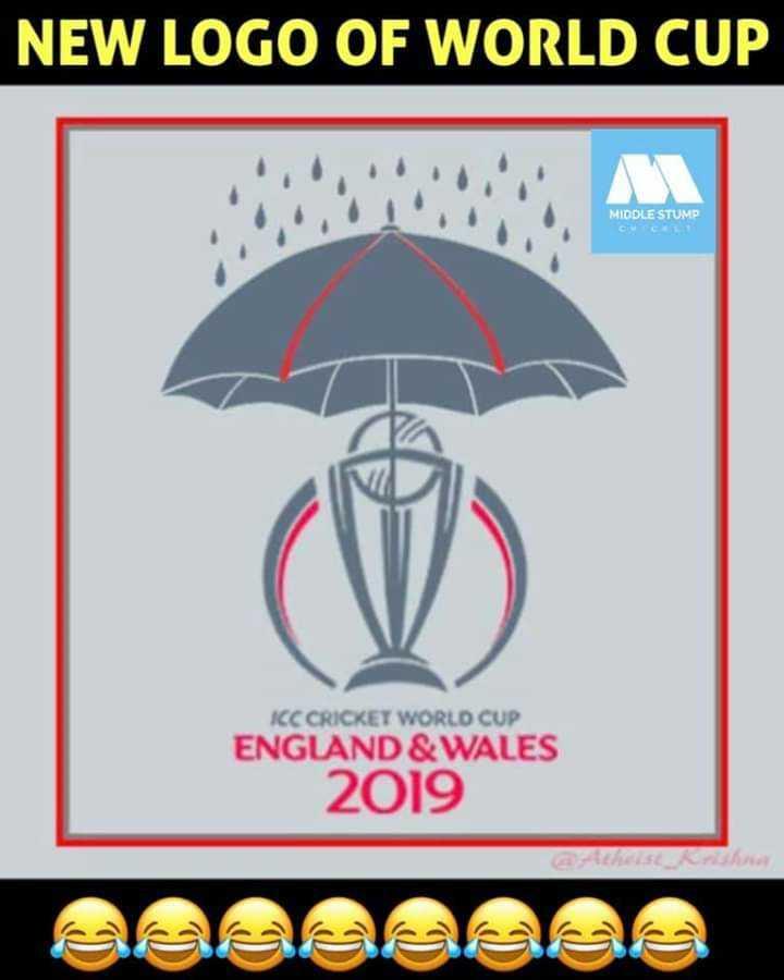🏆బంగ్లాదేశ్ vs శ్రీలంక - NEW LOGO OF WORLD CUP MIDDLE STUMP ICC CRICKET WORLD CUP ENGLAND & WALES 2019 - ShareChat