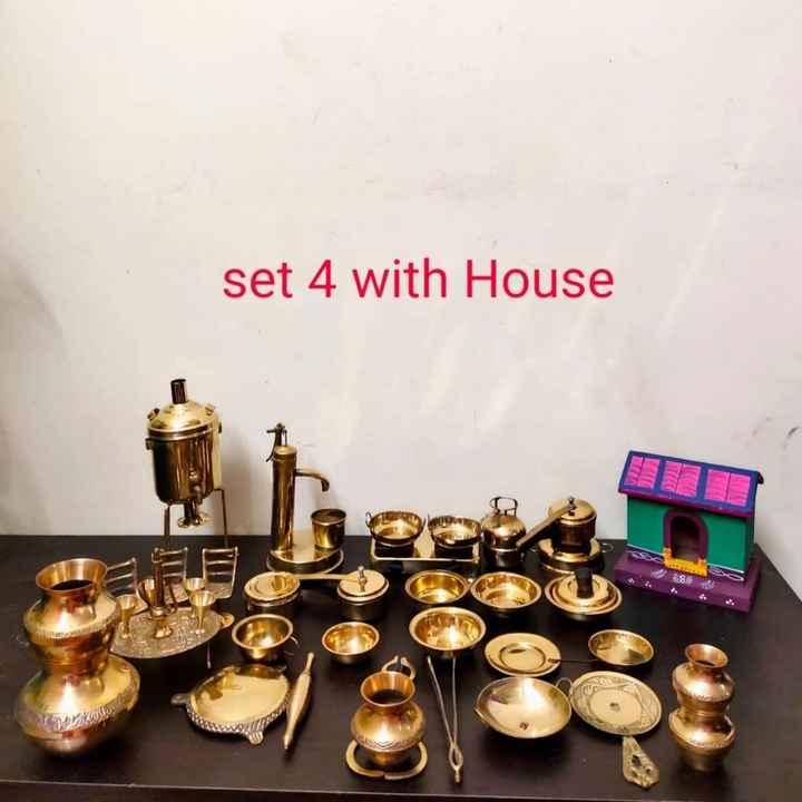 బొమ్మల కొలువు - set 4 with House AREN - ShareChat