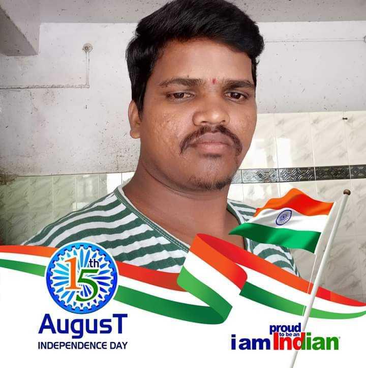 👃ముక్కు తో మాటాడి చూడు - August proud iam indian INDEPENDENCE DAY - ShareChat
