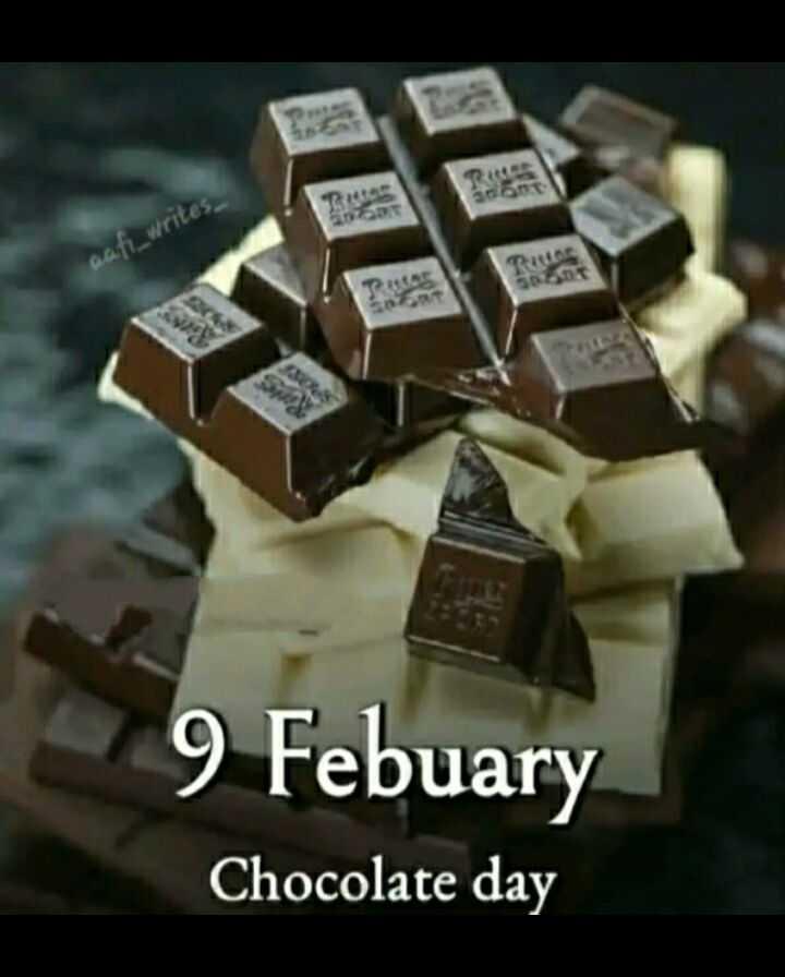 💗 వాలెంటెన్స్ వీక్ - wafi _ writes 9 Febuary Chocolate day - ShareChat