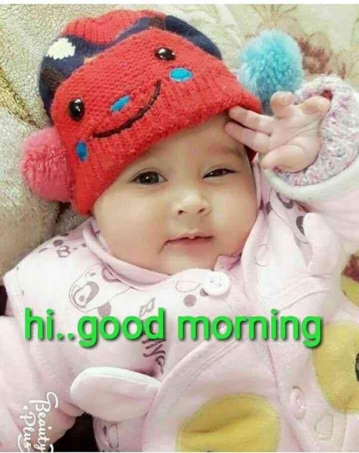 💐విషెస్ GIF - hi . . good morning Plus Beauty - ShareChat