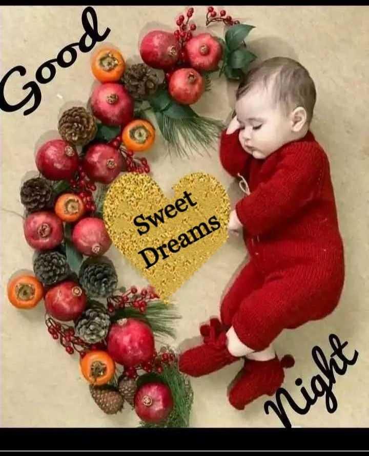 😴శుభరాత్రి - poos ta Sweet Dreams Night - ShareChat