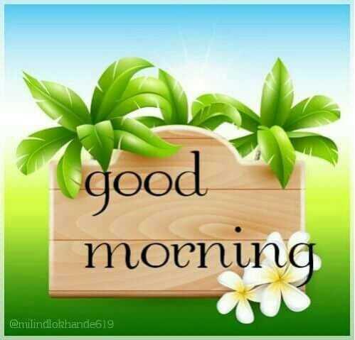 🌅శుభోదయం - ( good morning @ milindlokhande619 - ShareChat